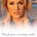 Carrie Underwood took out a full-page ad to thank country radio